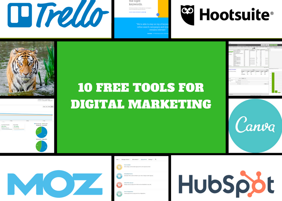 10 Free Digital Marketing Tools You Should Know About